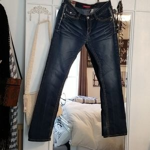 Skinny boot Jean's.  Good condition.